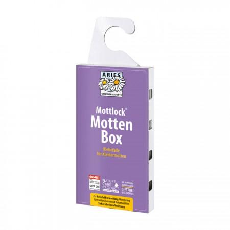 Mottlock® Mottenbox   Klebefalle gegen Kleidermotten zur Befallsüberwachung  (Monitoring)