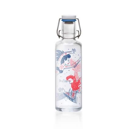 Soulbottle - Trinkflasche aus Glas 0,6l