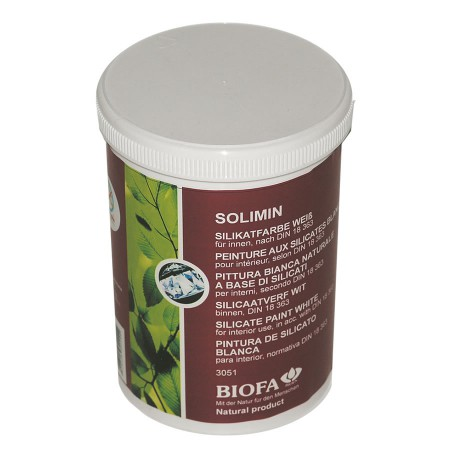Biofa Solimin Silikatfarbe weiß 3051 - 10 Liter SONDERPREIS