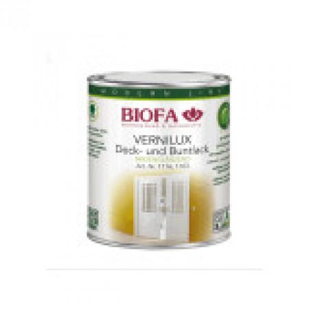 Biofa Decklack VERNILUX weiß, 1116, seidenglänzend