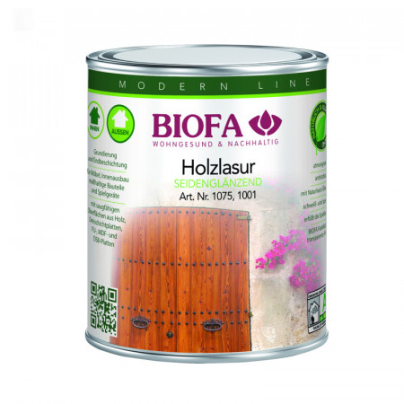 Biofa Holzlasur farbig lösemittelhaltig 1001