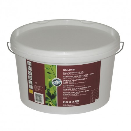 Biofa Solimin Quarzstreichputz weiß 3055