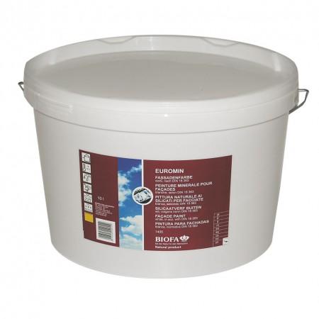Biofa Euromin Fassadenfarbe weiß, 1405, 10 l