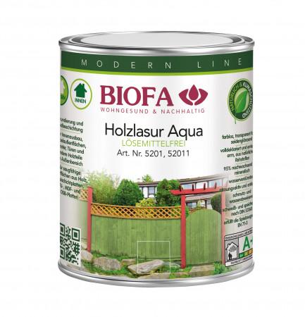 Biofa Holzlasur farbig lösemittelfrei, 51xx