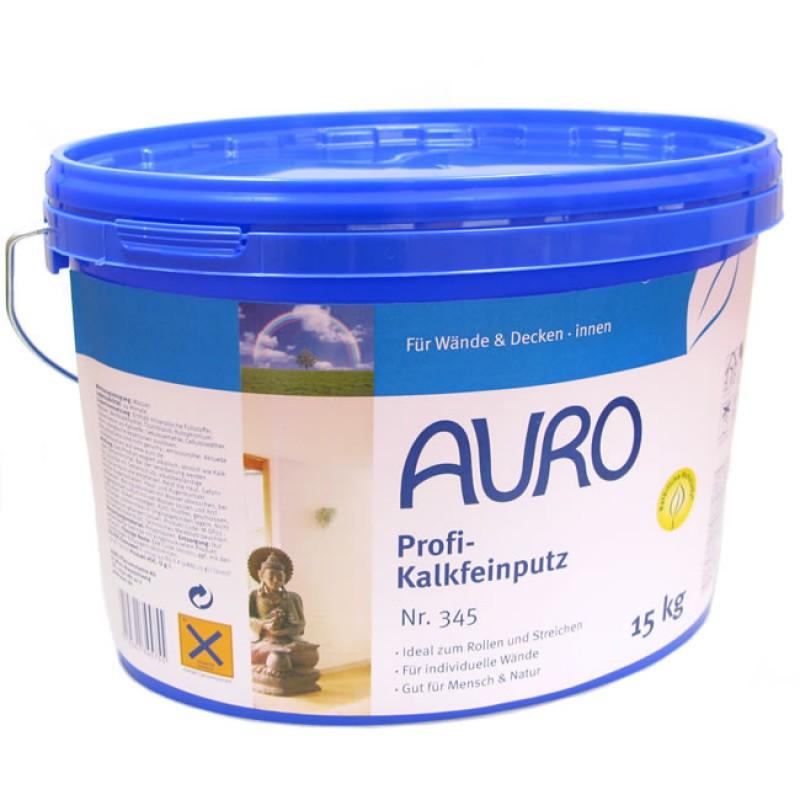 Auro profi kalkfeinputz nr 345 online bestellen for Profi wandfarbe