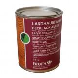 Biofa Landhausfarbe Aqua für außen, weiß 5112