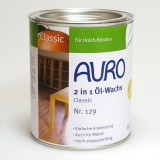 Auro 2 in 1 Öl-Wachs Classic, Nr. 129, 0.75 l